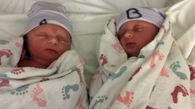 Luck of the Irish: Twin Girls Born on St. Patrick's Day