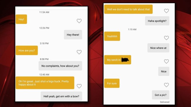 Woman Unwittingly Brags About Poaching Deer to Game Warden on Dating App