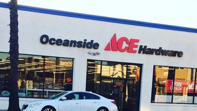 Swell Oceanside Gets New Ace Hardware Store Nbc 7 San Diego Download Free Architecture Designs Intelgarnamadebymaigaardcom