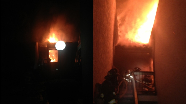 15 Displaced in Oceanside Apartment Fire