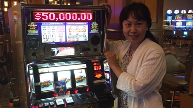 San Diego Resident Wins $50K Playing Pala Casino Slot Machine