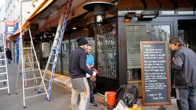 Cafe Where 5 Died in Nov. 13 Paris Attacks Reopens