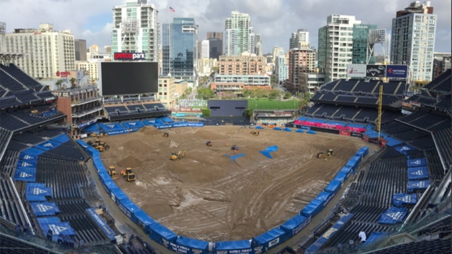 Rain or Shine: Monster Jam Rolls on at Petco Park