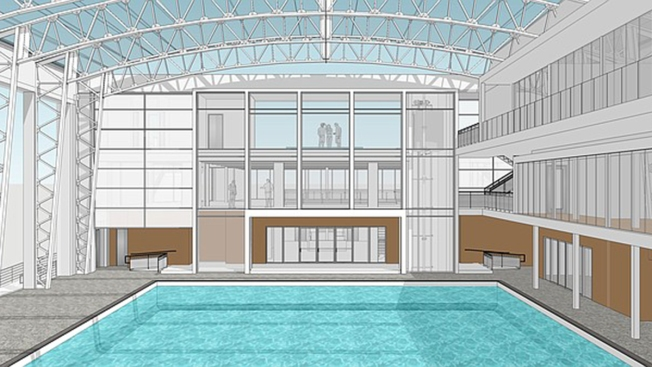 Work Starts on $11M Restoration of Belmont Park's Plunge Pool Facility