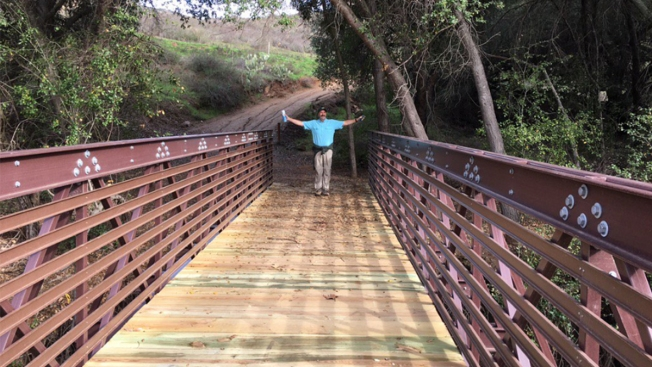 New Hiking, Biking, Horse Riding Bridge Opens on Poway's Old Coach Trail