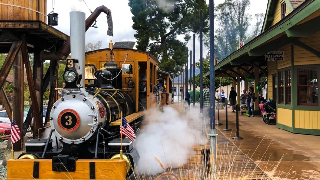 All Aboard! Poway's Historic Train Returns to Service