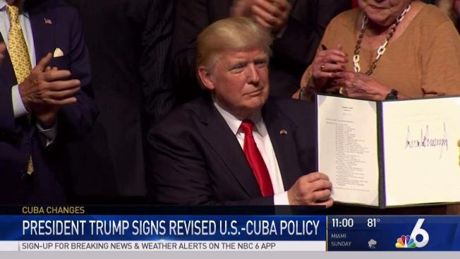 Trump Cancels Part Of Obama S One Sided Deal With Cuba