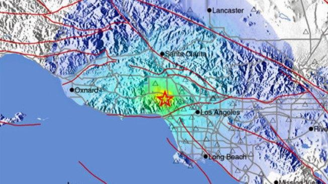 4.4 Magnitude Quake Strikes Near Los Angeles