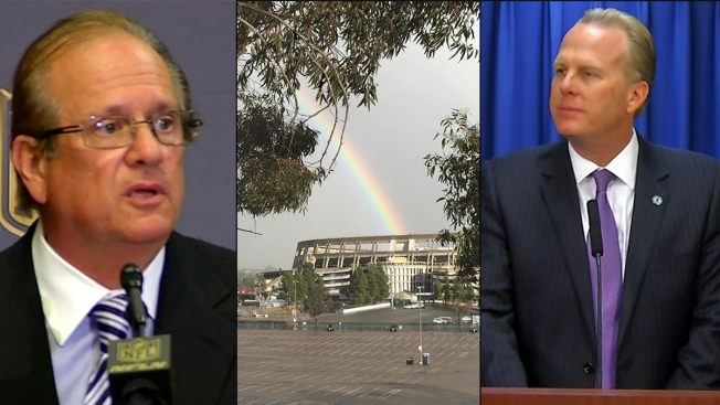 Chargers Plan for San Diego Stadium Comes to Light