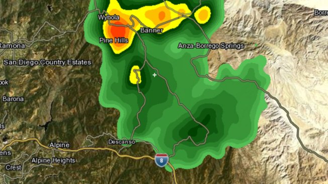 Flash Flood Warning Issued for Parts of San Diego County