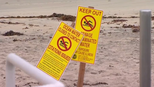 La Jolla Beach Reopened After Sewage Spill
