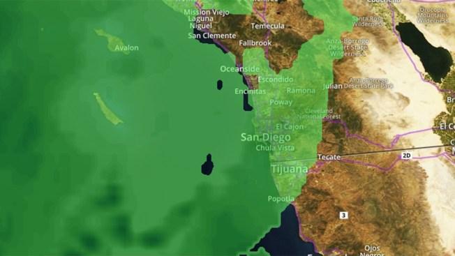 Winter Storm Brings Rain Winds And Possibly Snow To San Diego - Live doppler radar san diego