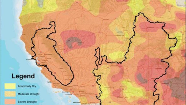 New Map Shows Growing Drought Problem