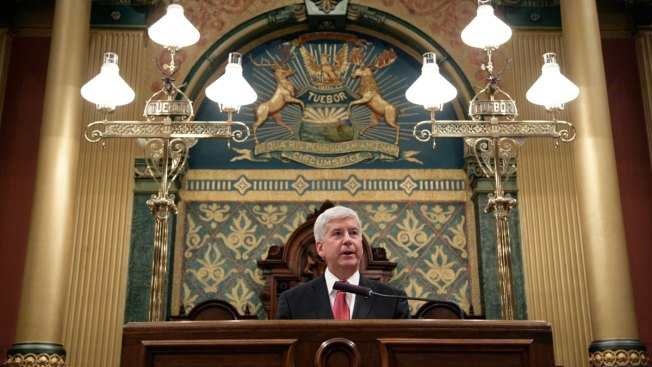 Michigan Governor Devotes Speech to Water Crisis