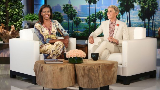 Michelle Obama debuts as Ellen DeGeneres' co-host