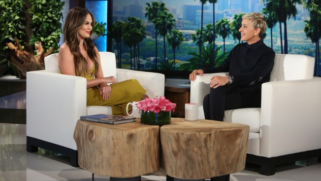 Chrissy Teigen Says She Moved Into Rihanna's Old Home & Opened Her Mail