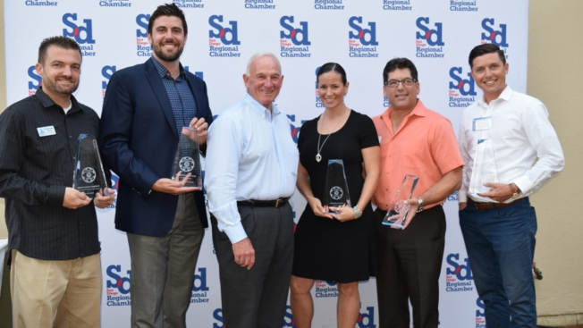 6 Small Businesses Awarded by San Diego Regional Chamber of Commerce