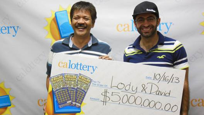 Locals Win '$5M Jackpot' Scratchers Prize
