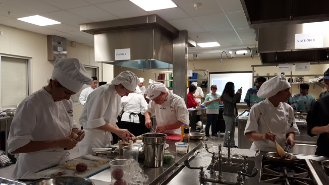 Culinary Arts Students Battle in Cooking Competition