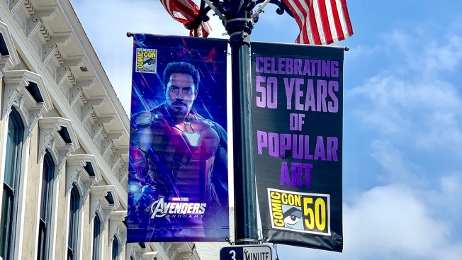 First Signs of Comic-Con 2019 in San Diego