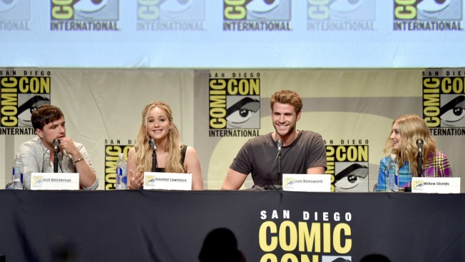 Stars, Director of Final 'Hunger Games' Film Unveil Trailer