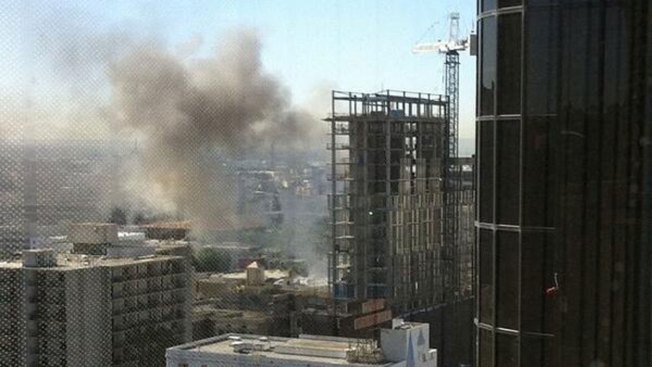 Crews Called to Report of High-Rise Fire