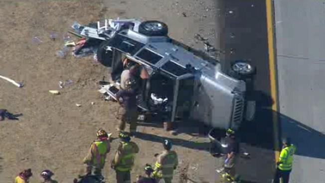 Multi-Vehicle Crash Slows Traffic on SR-56