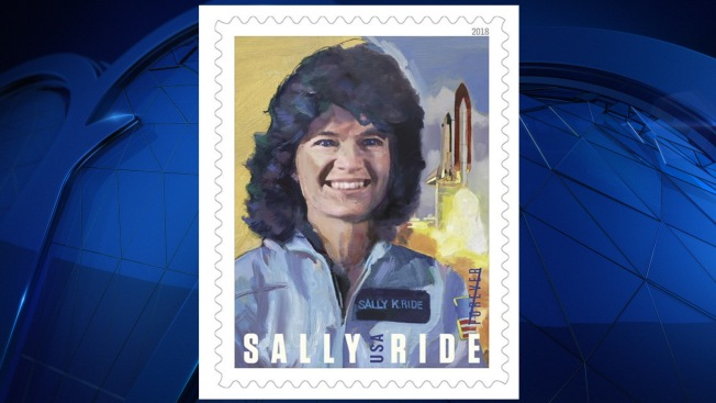 Sally Ride, 1st American Woman in Space, Gets Forever Stamp