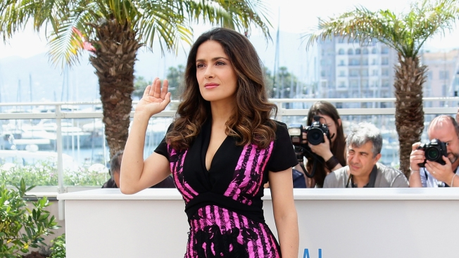 Salma Hayek Pulls Trigger on 'Everly' at Comic-Con