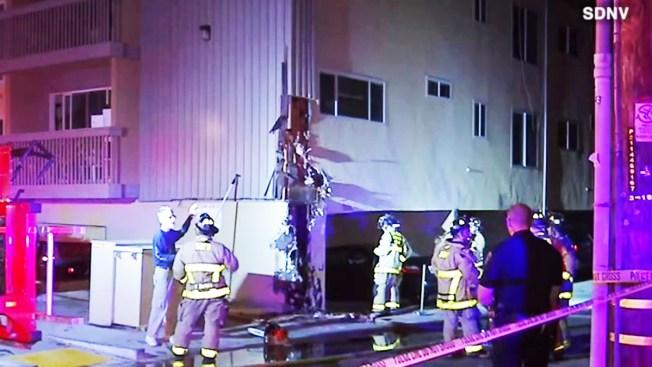 Fire Damages Ocean Beach Apartment Complex