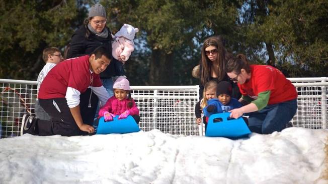 Snow, Santa Expected at Santee Lakes