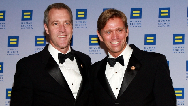 NY's 1st Openly Gay Congressman Marries Partner