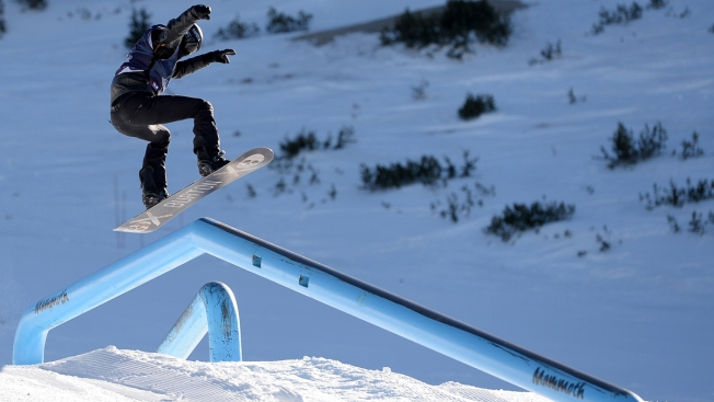 Shaun White Captures Olympic Snowboard Qualifier