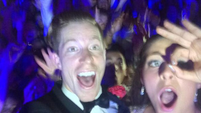 Shaun White Posts Selfie from Pennsylvania Prom