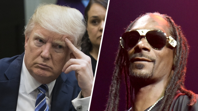 Trump Tweets Dig at Snoop Dogg Over Mock Shooting in Video
