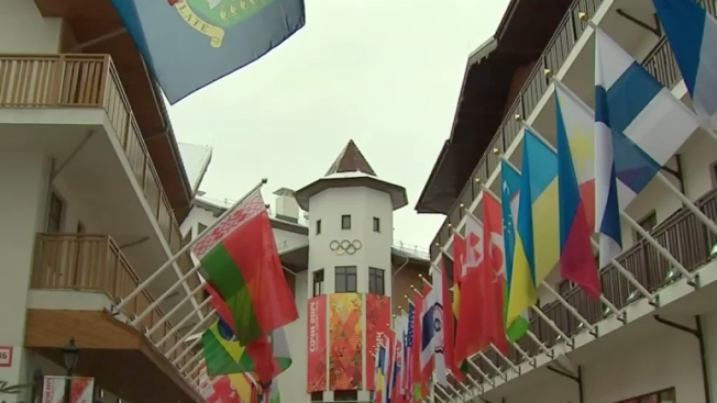 Sochi's Mountain Olympic Village Officially Opens