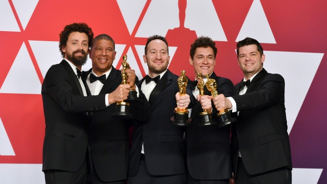 'Spider-Verse' First Marvel Superhero Film to Win an Oscar