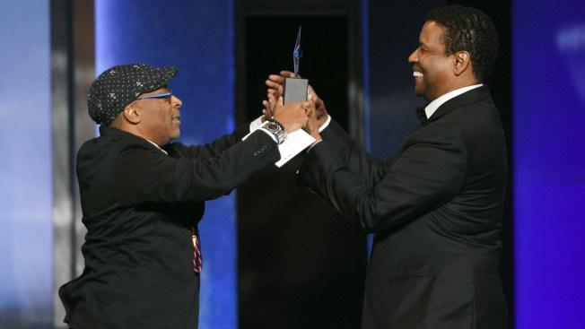 Julia Roberts, Spike Lee Toast Denzel Washington at Event