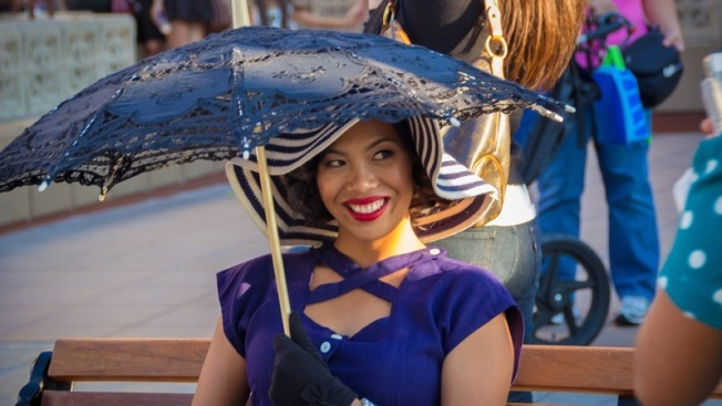 Vintage Flair: Dapper Day at Disneyland