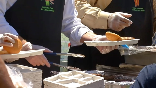 Annual Summer Food Program Kicks Off With BBQ