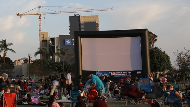 San Diego's 2015 Summer Movies in the Park Series Begins