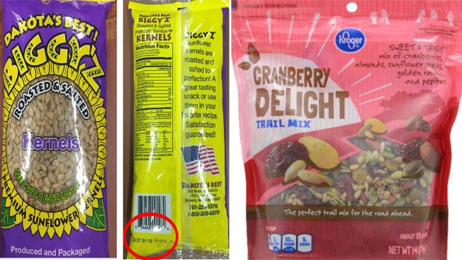 Sunflower Seeds, Salad Toppers Recalled for Listeria