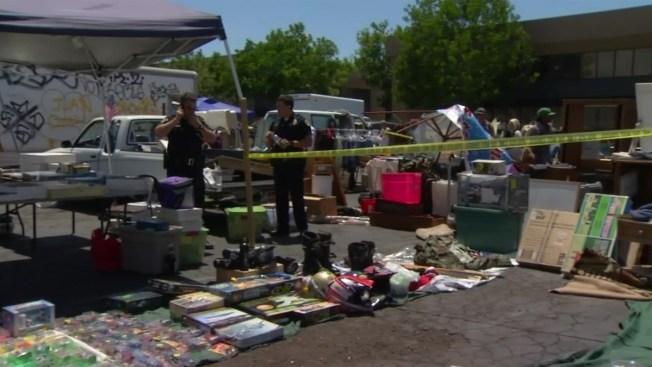 Fight Between Swap Meet Vendors Ends in Stabbing