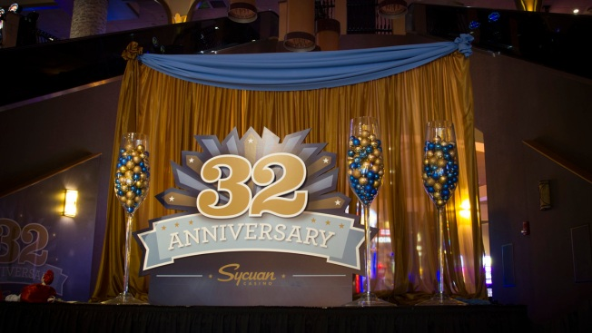 Sycuan Casino Celebrates 32 Years