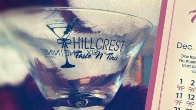 Hillcrest to Host Holiday 'Taste N' Tinis' Event