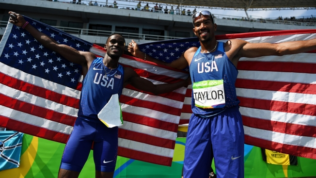 Day 11: Florida's Christian Taylor and Will Claye Win Repeat Medals in the Triple Jump