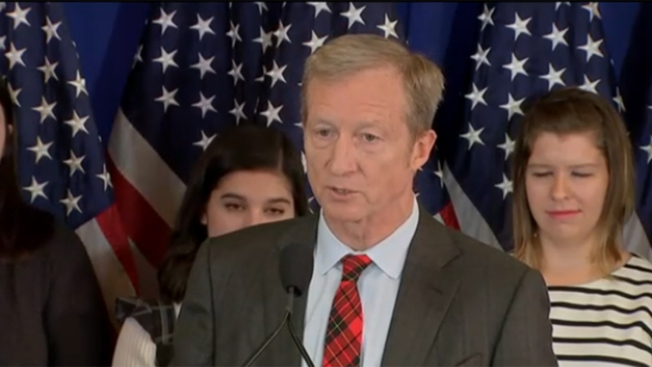Billionaire donor Steyer says he won't run for office in 2018