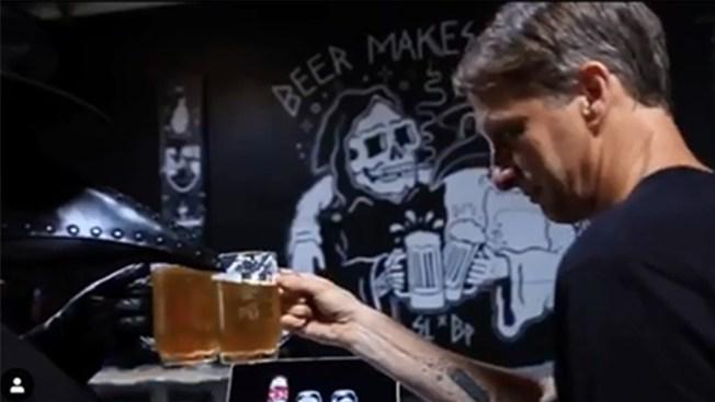 Skateboarding Icon Tony Hawk Brews Craft Beer With Black Plague Brewing