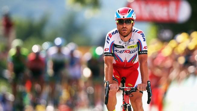 Italian Cyclist Luca Paolini Tests Positive for Cocaine at Tour de France