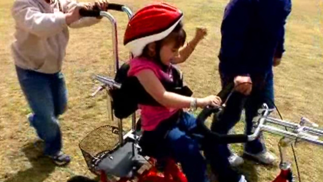 Creep Steals Sick Little Girl's Tricycle